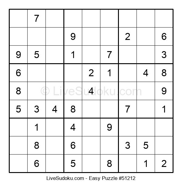 Beginners Puzzle #51212