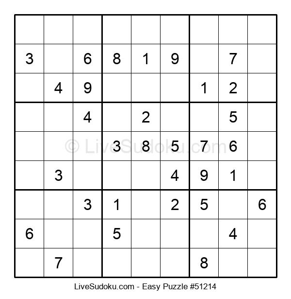 Beginners Puzzle #51214