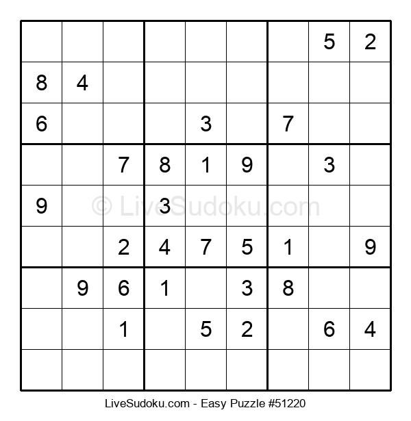 Beginners Puzzle #51220