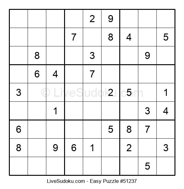 Beginners Puzzle #51237