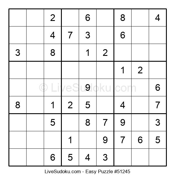Beginners Puzzle #51245