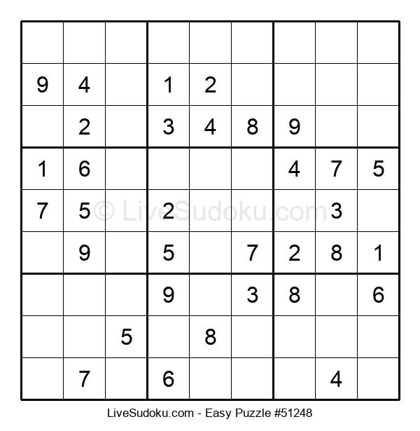 Beginners Puzzle #51248