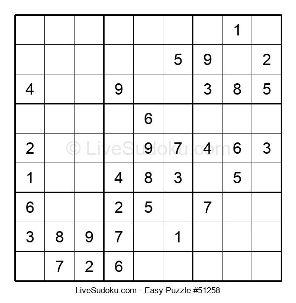 Beginners Puzzle #51258