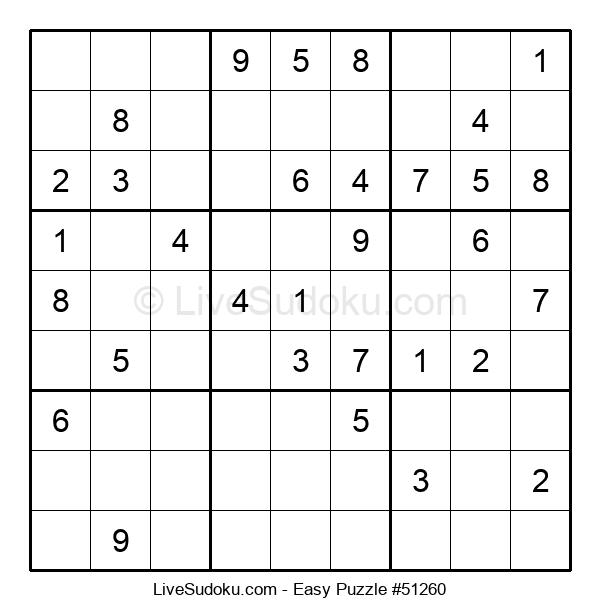 Beginners Puzzle #51260