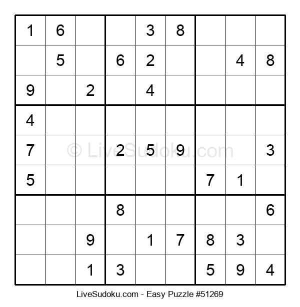 Beginners Puzzle #51269