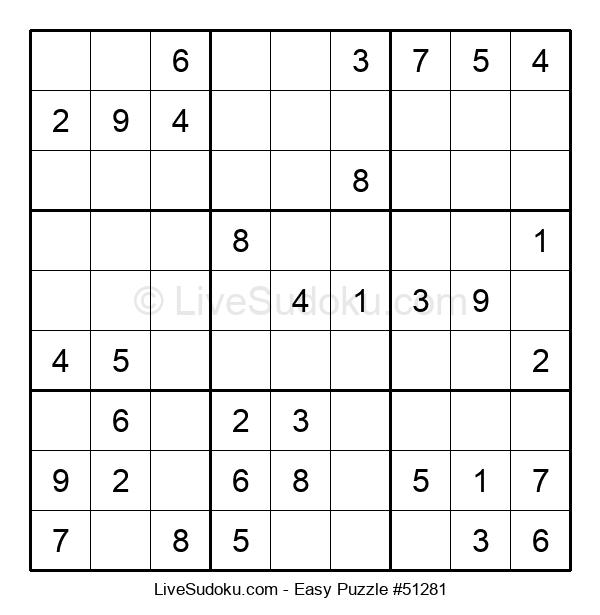 Beginners Puzzle #51281