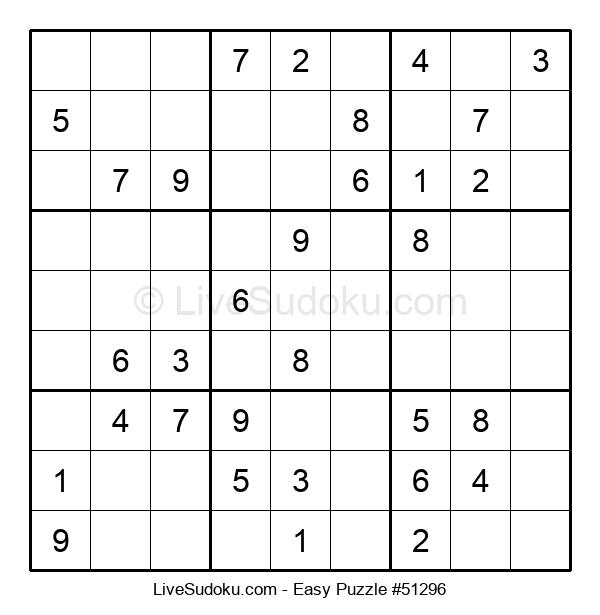 Beginners Puzzle #51296