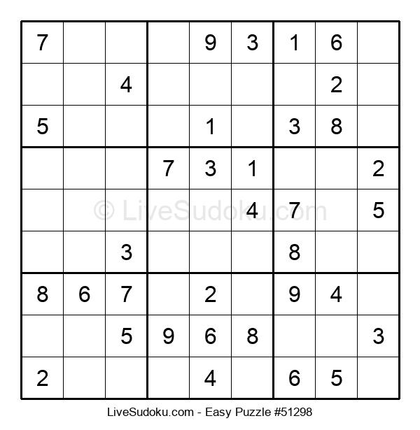Beginners Puzzle #51298