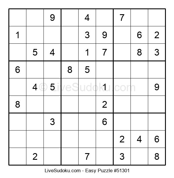 Beginners Puzzle #51301