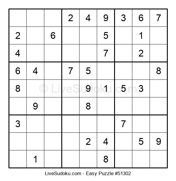 Beginners Puzzle #51302