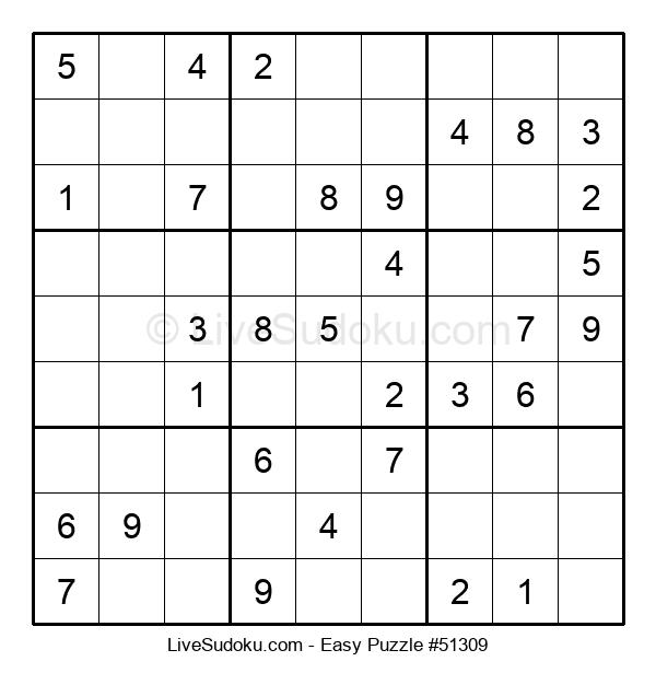 Beginners Puzzle #51309