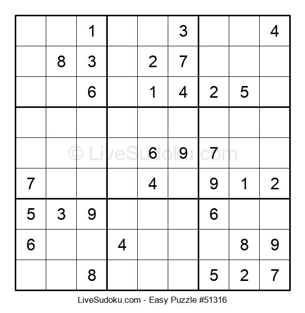 Beginners Puzzle #51316