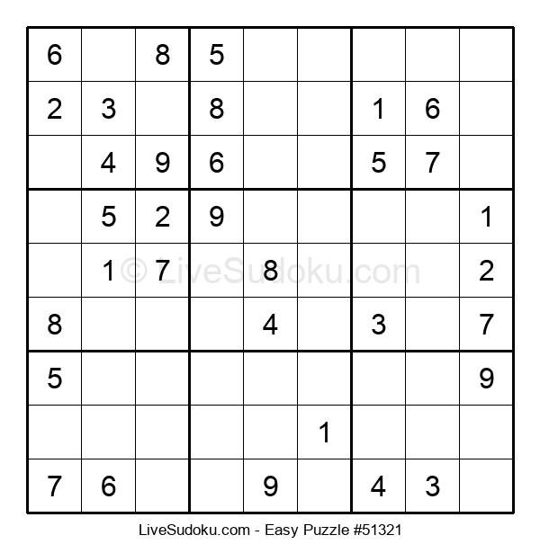 Beginners Puzzle #51321