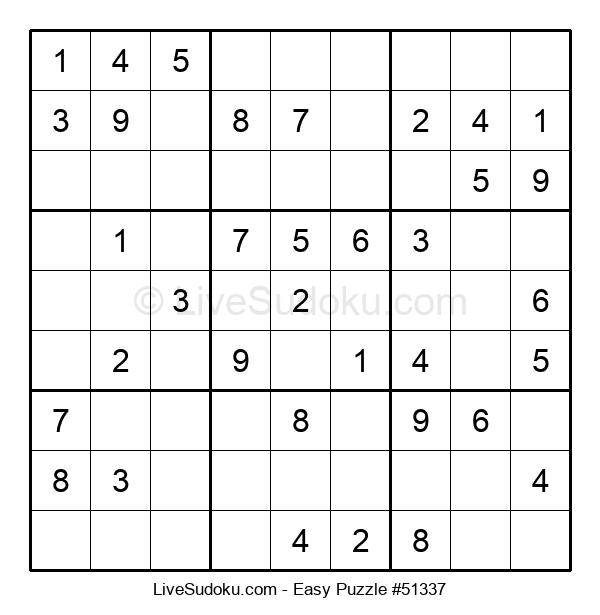 Beginners Puzzle #51337