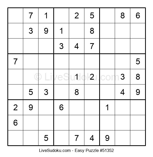 Beginners Puzzle #51352