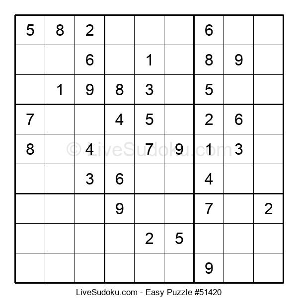 Beginners Puzzle #51420