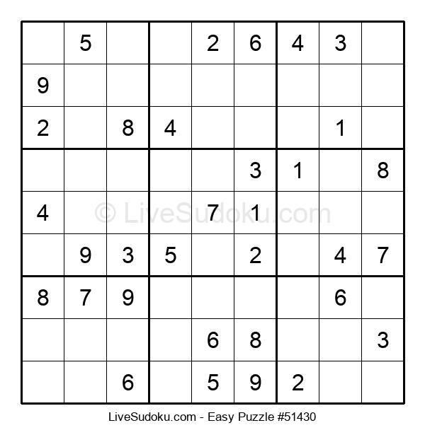 Beginners Puzzle #51430