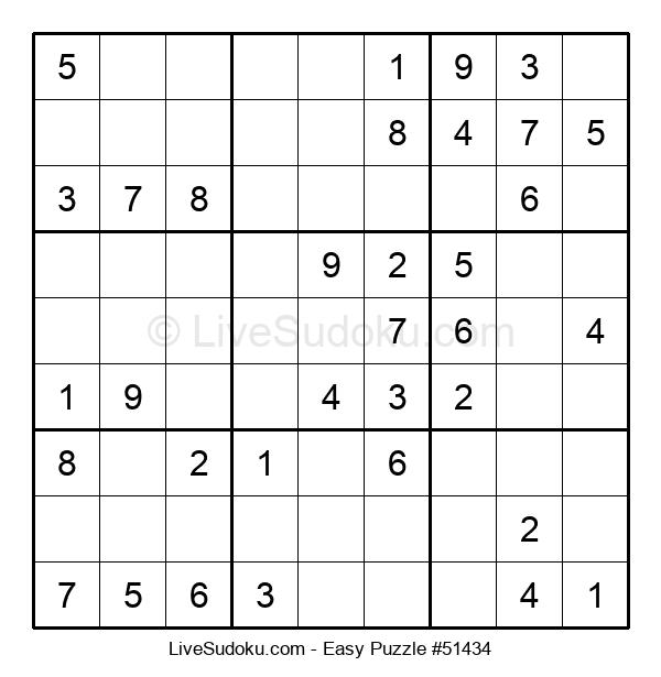 Beginners Puzzle #51434