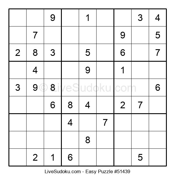 Beginners Puzzle #51439