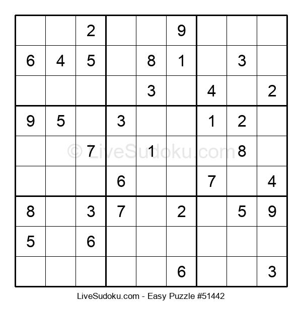 Beginners Puzzle #51442
