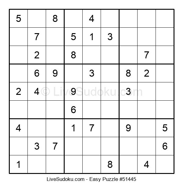 Beginners Puzzle #51445