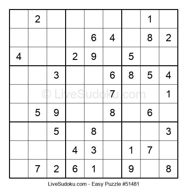 Beginners Puzzle #51481