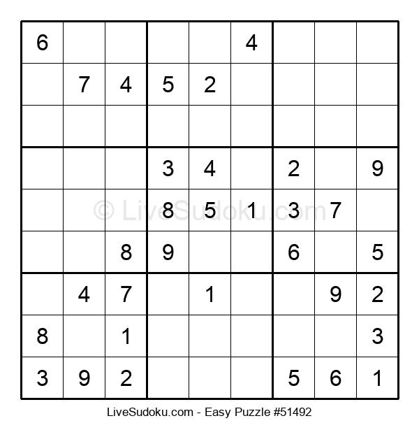 Beginners Puzzle #51492