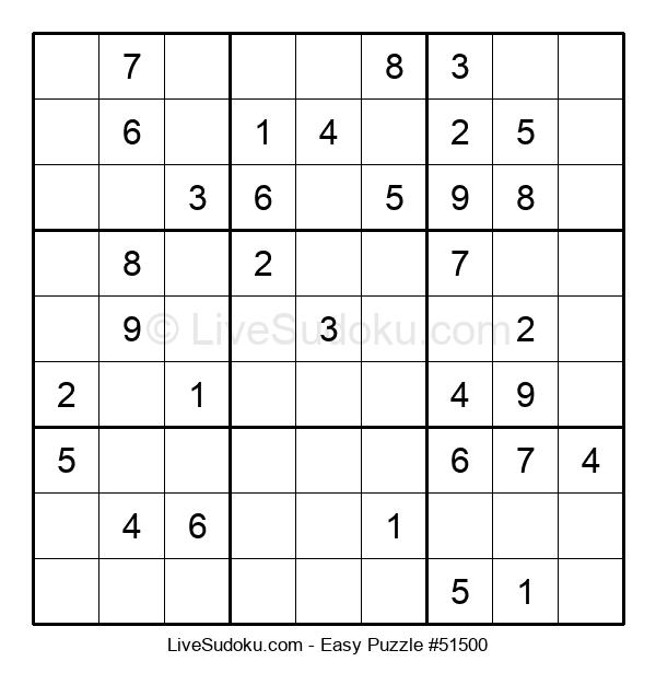 Beginners Puzzle #51500