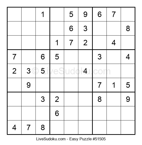 Beginners Puzzle #51505