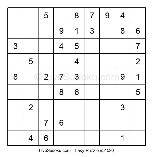 Beginners Puzzle #51526