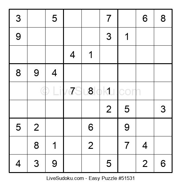 Beginners Puzzle #51531