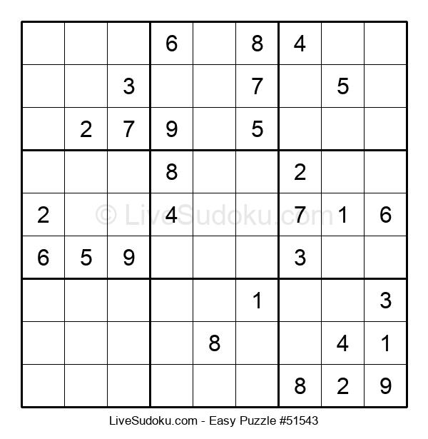 Beginners Puzzle #51543