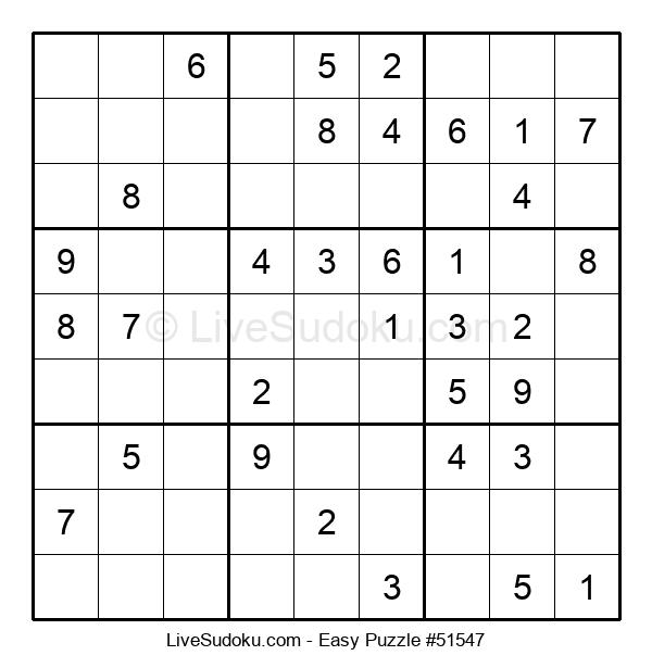 Beginners Puzzle #51547