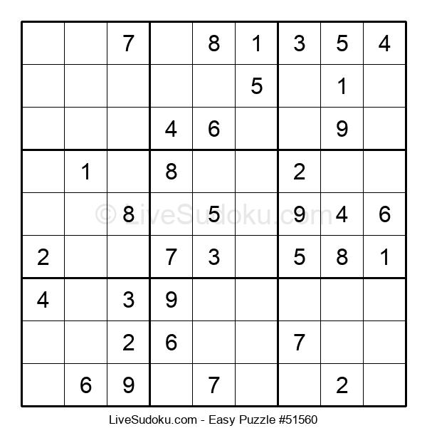 Beginners Puzzle #51560