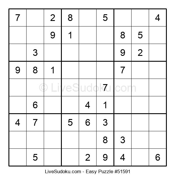 Beginners Puzzle #51591