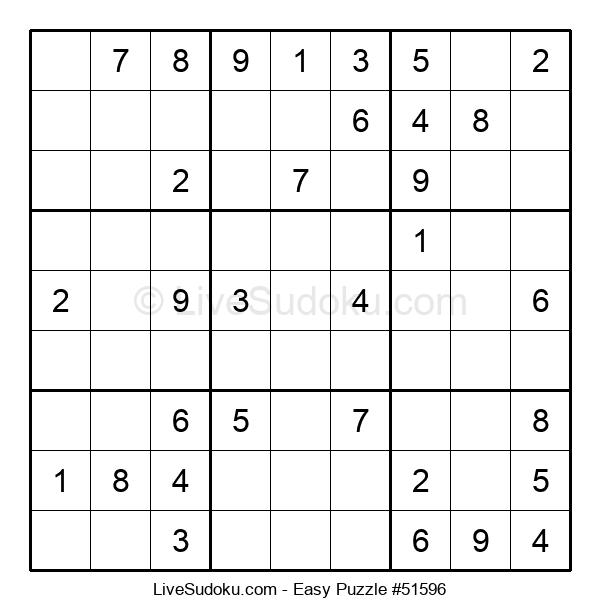 Beginners Puzzle #51596