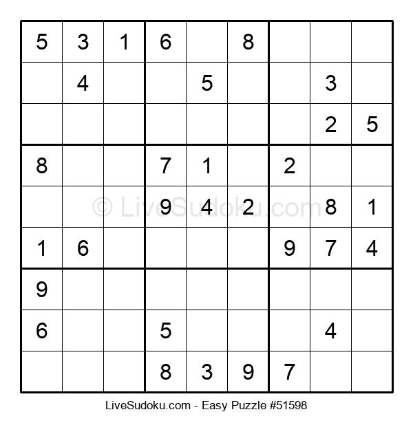 Beginners Puzzle #51598