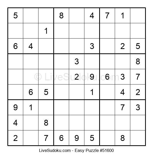 Beginners Puzzle #51600