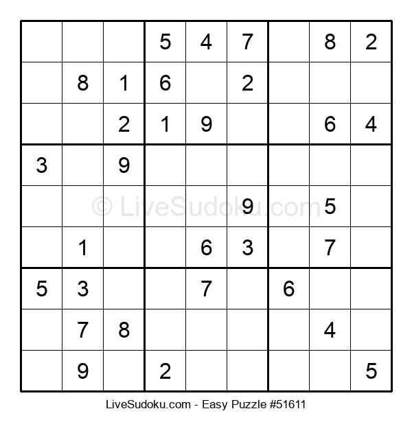 Beginners Puzzle #51611