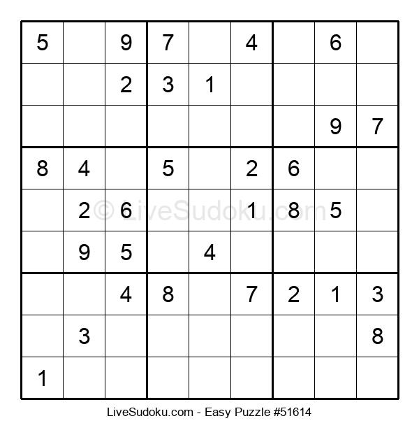 Beginners Puzzle #51614