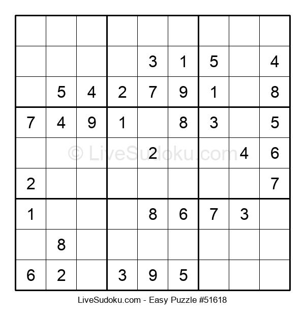 Beginners Puzzle #51618