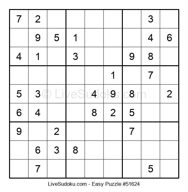 Beginners Puzzle #51624