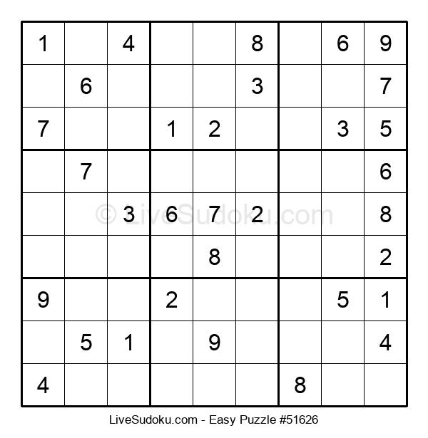 Beginners Puzzle #51626