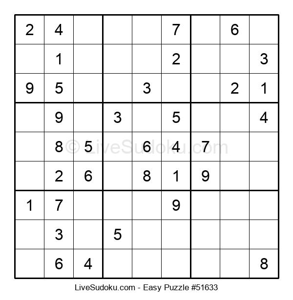 Beginners Puzzle #51633