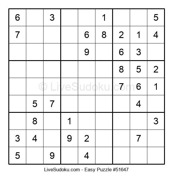 Beginners Puzzle #51647