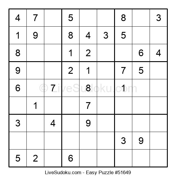 Beginners Puzzle #51649