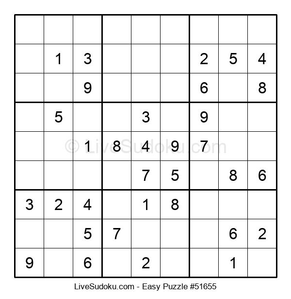 Beginners Puzzle #51655