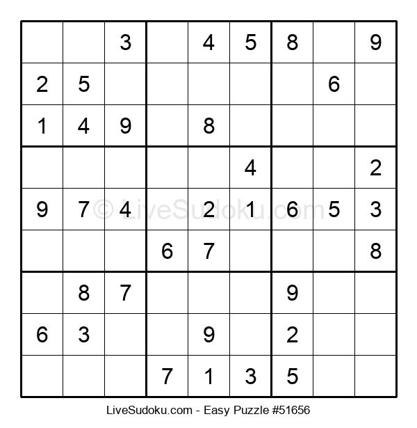 Beginners Puzzle #51656
