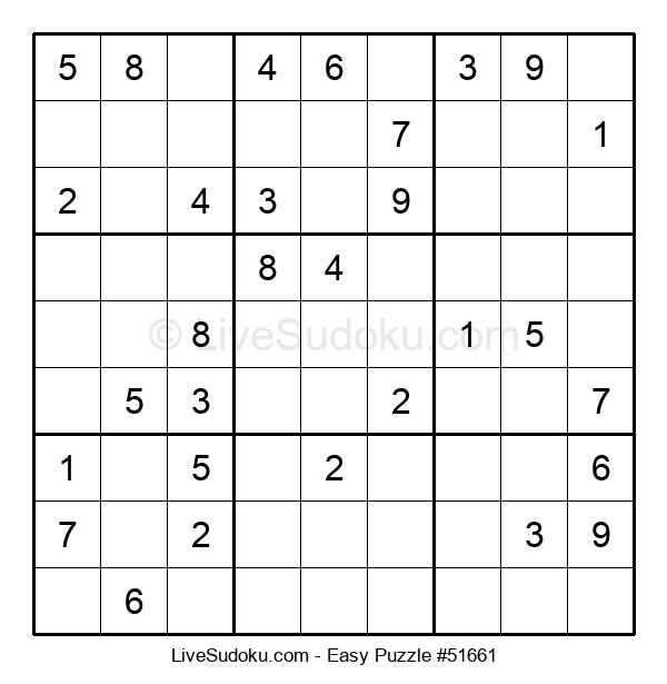 Beginners Puzzle #51661