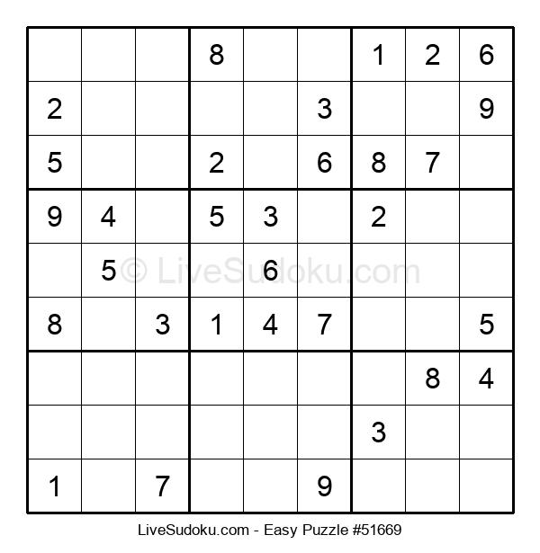 Beginners Puzzle #51669